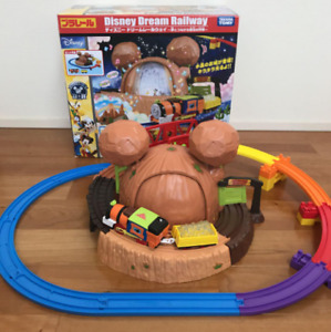 Plarail Mickey Mouse & Friends Adventure Mountain Set used