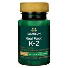 Swanson Witamina K2 Naturalna 200Mcg 30 Kaps.