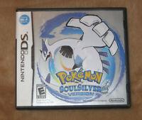 Nintendo DS Pokemon: SoulSilver Version (DS, 2010) Authentic & Tested