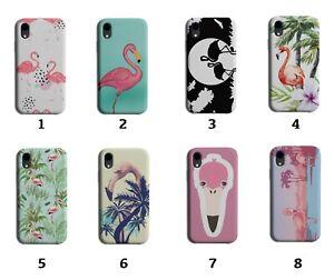 Flamingo Phone Case Cover Flamingos Pink Bird Beak Funny Tropical Exotic 8024 J