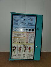 "TEAL WhiteCoat Clipboard Nursing Edition Folding Aluminum Student Nurse 9""x11"""