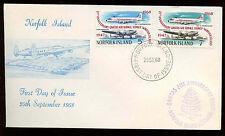 Norfolk Island 1968 Qantas Air Service FDC First Day Cover #C13893