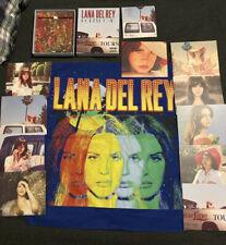 Lana Del Rey Official Lot Rare Boxset Endless Summer Tour Bandanna Merchandise