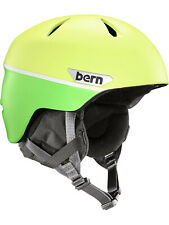 NEW Bern Boys Weston Junior Helmet Helmet Green
