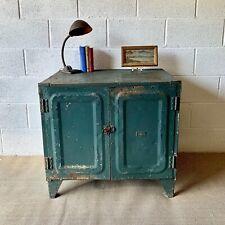 Vintage Industrial Engineers Metal Cabinet - 1950's