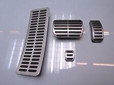VW PHAETON 3D PEDALERIE PEDALE EDELSTAHL 3D1864777A 3D1723173A 8N1721647B (HQ240
