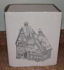 Dept 56 Obbie's Books & Letrinka's Candy North Pole Series Village Building Rare