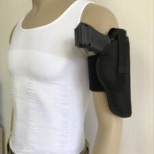 Per Day Carry Concealed Arm Ankle Leg Handgun Gun Holster for Right Universal BK