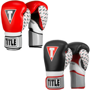 Title Boxing Infused Foam Revenge Hook and Loop Training Gloves