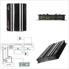 13.8V 5800 Watt Autos Audio Stereo RMS 4/3/2 Channel Powerful Amplifier Amp 4Ohm