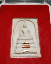 THAI BUDDHIST AMULET IN TEMPLE BOX