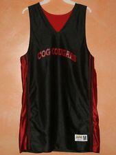 EastBay COG COUGARS Black & Red Basketball Jersey Men's Sz M
