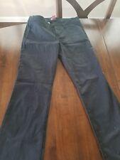 Black 0-1-3-5-7-9-11-13-15 GM146 Dickies Mock 5-Pocket Super-Skinny Style