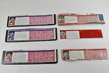 Transformers ~ Lot Of 6 Assorted information Cards ~ Cards Only ~ Hasbro