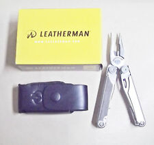 Leatherman Wave pinza multiuso 17 attrezzi con fodero in cuoio art. 830078