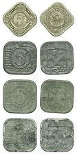 Netherlands - Lot 5 Cent 1943, 1941, 1942, 1943 zink