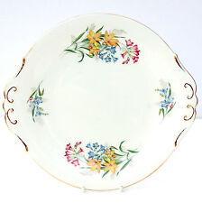 VINTAGE Paragon Bone China Piatto per torta floreale