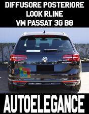 VW PASSAT 3G B8 2015 AL 2019 SOTTO PARAURTI RLINE DIFFUSORE ABS PROFILI CROMATI