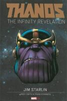 Thanos : The Infinity Revelation by Jim Starlin (2014, Hardcover) MINT FREE SHIP