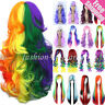 Womens Long Curly Full Hair Wigs Halloween Cosplay Costume Full Wigs Theme Party