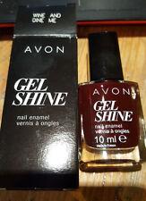NEW Avon - Wine and Dine Me Gel Shine Nail Enamel RRP £7