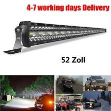 LED bar offroad 52Zoll led balken DREI REIHE Fahrscheinwerfer Flut Spot Combo 50