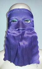 Purple Curtain Domino Eye Mask