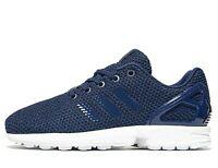 Adidas Originals ZX Flux GS ® ( Size UK 3.5 EU 36.5 ) Dark Blue / Navy / White