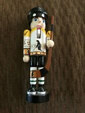 "New Listing5"" Pittsburgh Penguin Nutcracker Wooden"