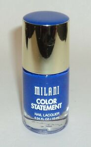 MILANI Color Statement Nail Lacquer Nail Polish nail Enamel BLUE PRINT 26