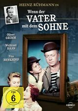 DVD WENN DER VATER MIT DEM SOHNE # Heinz Rühmann, Oliver Grimm ++NEU