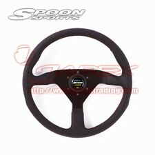 SPOON SPORTS MOMO Leather Steering Wheel for HONDA UNIVERSAL ALL-78500-000