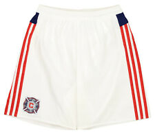 adidas Men's MLS Chicago Fire Adizero Team Athletic Shorts, White