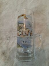 Shot glass w/handle , excellent condition 4 inches Made in France