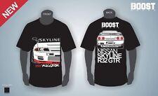 Skyline GTR32 Drift T-Shirt HKS Tomei Boost RB Godzilla