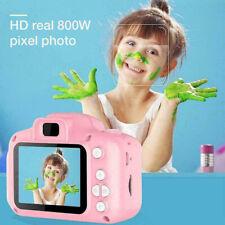 "Pink 32Gb Kids Childs Digital Camera 1080P 2"" Hd Lcd Mini Camcorder Support Uk"