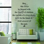 DIY Art Wall Decals Words Quote Sticker Home Room Decor Removable Vinyl Mural