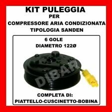 KIT PULEGGIA COMPRESSORE ARIA CONDIZIONATA 14638 PEUGEOT 206-307-BIPPER-RANCH