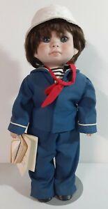 Middleton's Little Ones Scottie Sailor Ceramic Doll 1984 Limited Edition #47