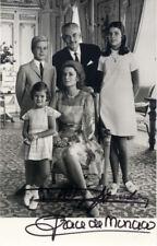 Rainier & Grace de Monaco (+) autograph, signed photo