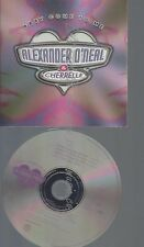 CD--PROMO--ALEXANDER O NEAL--BABY COME TO ME --3 TRACKS