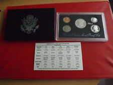 *USA KMS 1993 PP (SILVER PROOF SET)  * 1 Cent- 1/2 Dollar (Ki2)