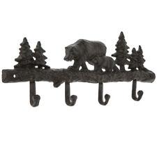 Bears Metal Wall Decor With Hooks