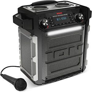 Lautsprecher ION Audio Block Rocker Sport 100 Watt Bluetooth Party  OVP fehlt