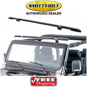 Smittybilt 90104 Windshield Channel for 97-06 Jeep Wrangler TJ Sport Rubicon ALL