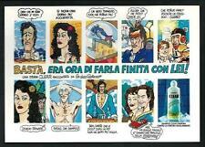 """Andrea Pazienza : cartolina realizzata per """" Lucca 20 anni """" - f.to cm 16 x 11,3"""