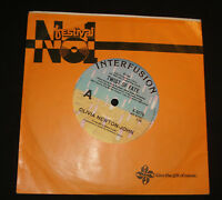 OLIVIA NEWTON-JOHN 45 - TWIST OF FATE 1980s AUSSIE POP