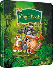 The Jungle Book Limited Edition Steelbook UK Exclusive Bluray Brand NEW SEALED