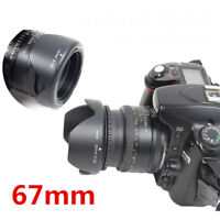 67mm Reversible Petal Flower Lens Hood II For Canon Nikon Sony Olympus Camera