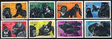 Rwanda 1983 SG#1169-1176 Mountain Gorillas MNH Set #D58769